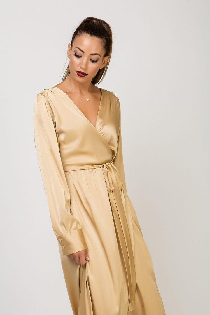 1cab10f21b03 Φόρεμα κρουαζέ – ISO - eshop με νεανικά γυναικεία ρούχα