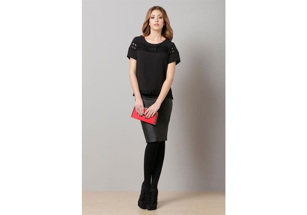 c4b14b683545 Μπλούζα με δαντέλα – ISO - eshop με νεανικά γυναικεία ρούχα