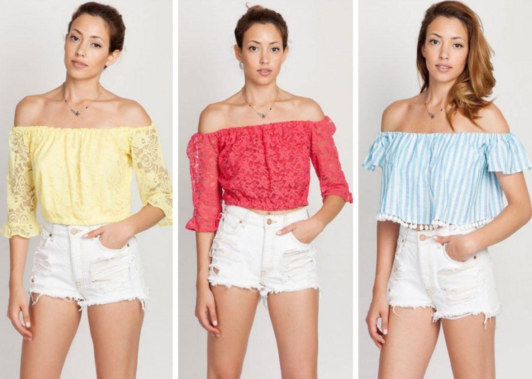 Αυτό το καλοκαίρι η τάση θέλει να αναδείξετε τους ώμους σας! Επιλέξτε off  shoulders top σε έντονα χρώματα και patterns και συνδυάστε τα με την μακριά  σας ... a895940ba30