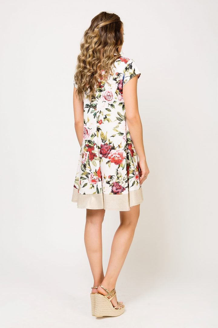 ae5117d06c43 Φλοράλ φόρεμα – ISO - eshop με νεανικά γυναικεία ρούχα
