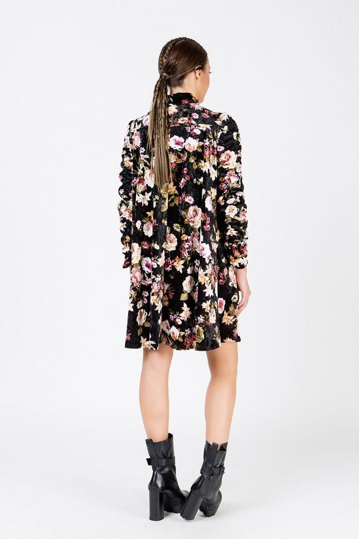 8091e1c92c08 Φλοράλ μίνι φόρεμα – ISO - eshop με νεανικά γυναικεία ρούχα