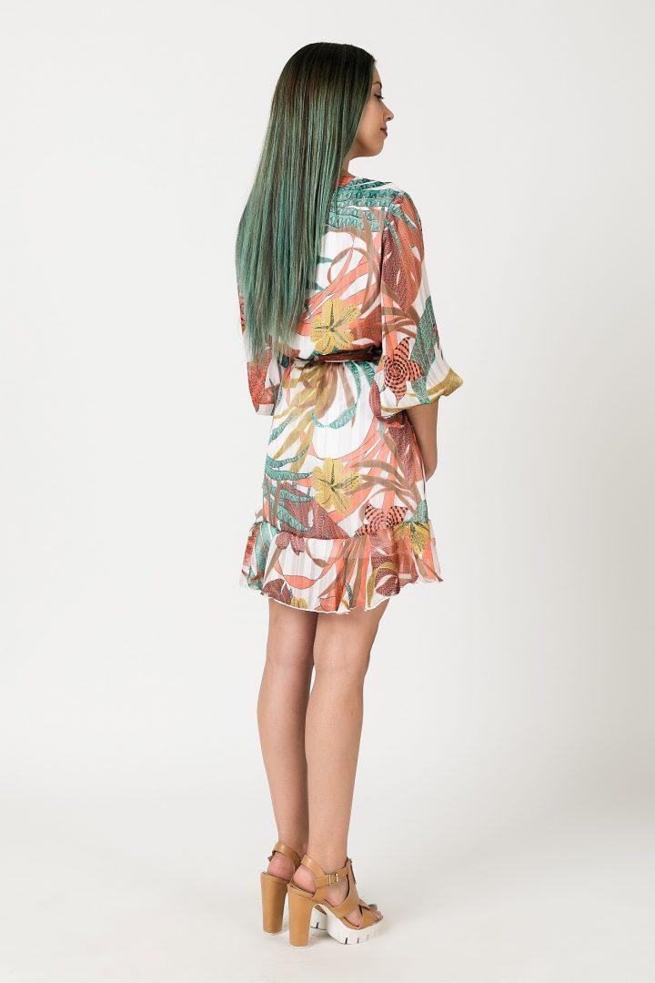 6833360a428e Φόρεμα κρουαζέ – ISO - eshop με νεανικά γυναικεία ρούχα
