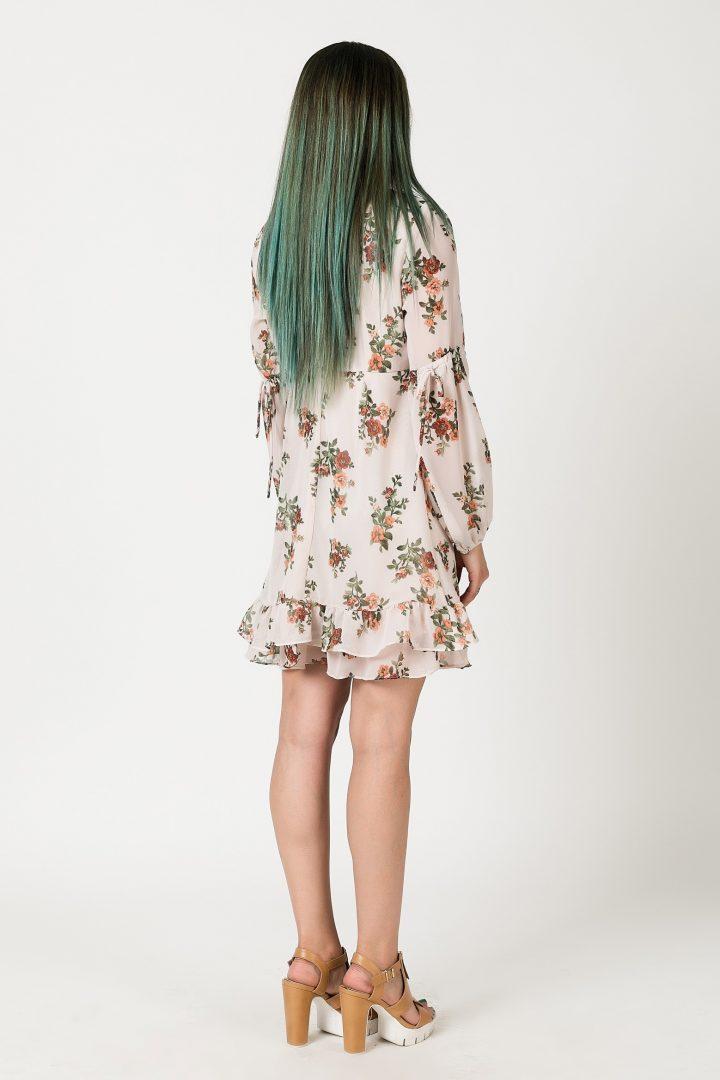33e8725e0245 Φόρεμα βολάν – ISO - eshop με νεανικά γυναικεία ρούχα